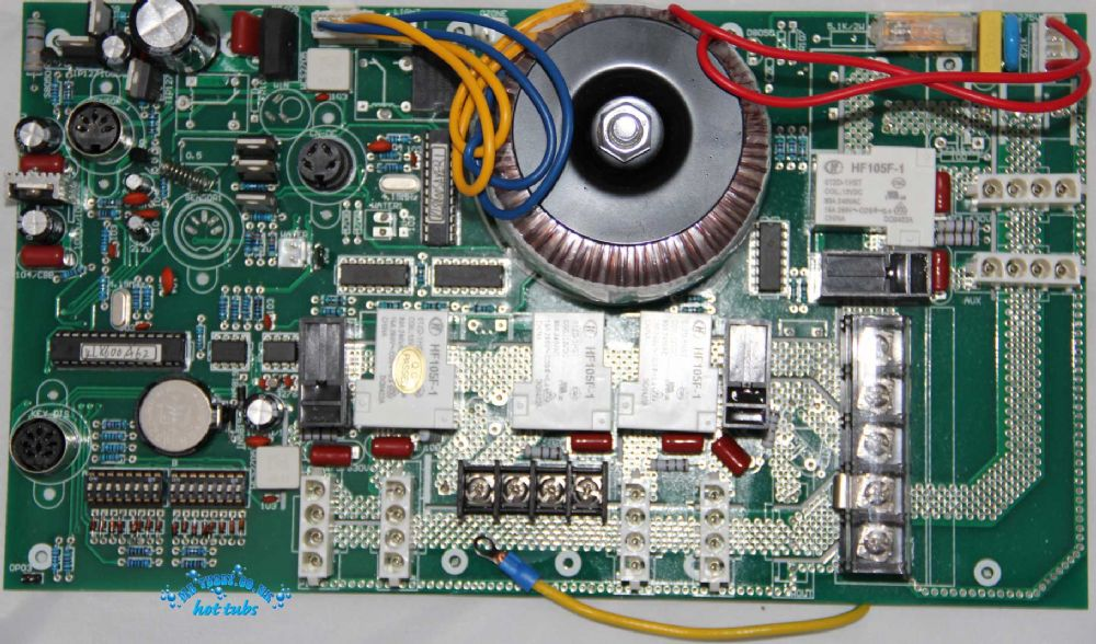 CHINESE HOT TUB SPA Circuit Board - ETHINK KL8600